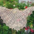 Lotus Blossoms Shawl par Annick