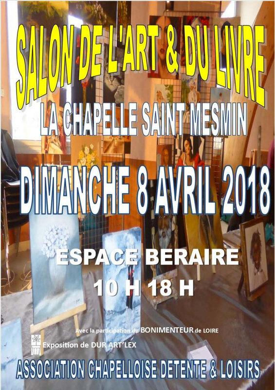affiche Chaplle Saint-Mesmin 2018