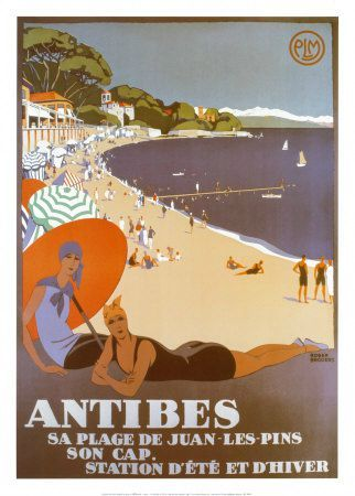 Antibes-Affiches Roger Broders