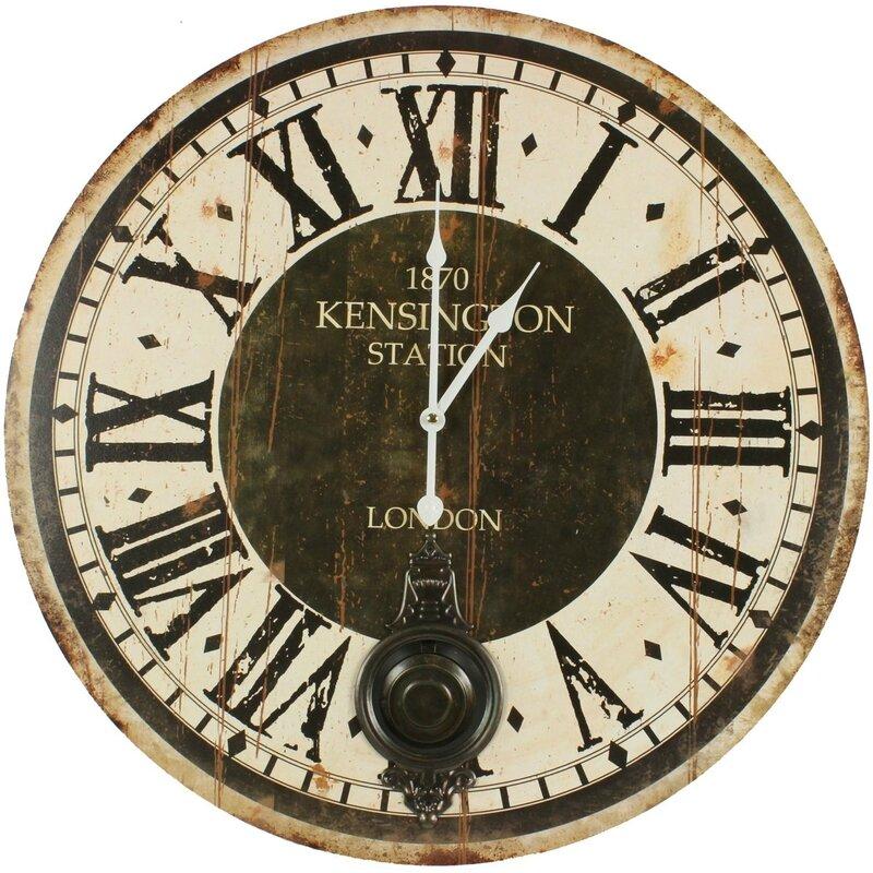 horloge-ancienne-balancier-1870-kesington-station-london-58cm