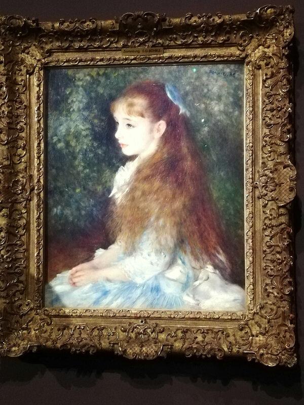 IMG_20190321 Auguste Renoir Portrait de Mademoiselle Irene Cahen dAnvers - la petite Irene - 1880