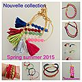Collection bracelet printemps-été 2015