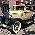 FORD Model A Tudor Sedan 1931 Gundelfingen (1)