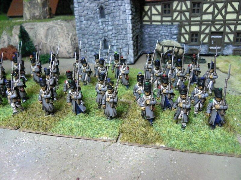 Soldats napoléoniens français
