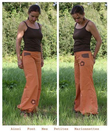 pantalon orange 2