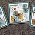 Des cartes en florilèges design et un tuto