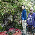 Grotte des chaudannes et trou souffleur dans le vallon de bellevaux