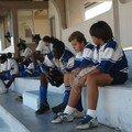 Dans les tribunes...on discute du match???