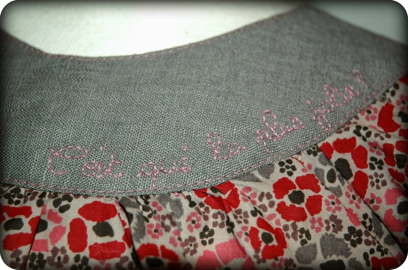 Blouse 4 ans broderie 3