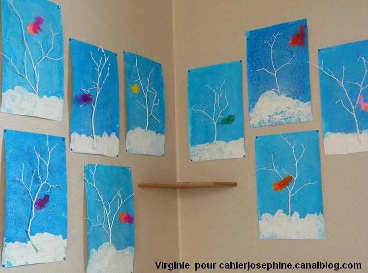 Ciel Bleu Et Neige Blanche Les Cahiers De Joséphine