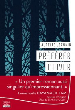 Préférer l'hiver d'Aurélie Jeannin