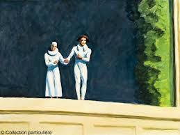 Edward Hopper, Two Comedians