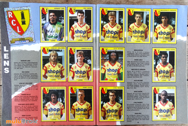 PANINI-FOOT-92-football-LENS-muluBrok