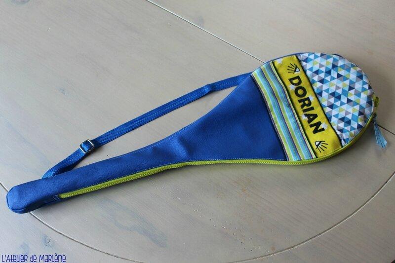 Housse de raquette de badminton personnalisée DORIAN