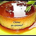 Crème renversante au caramel