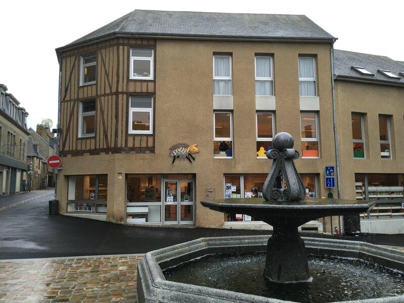 médiathèque bibliothèque Avranches place Saint-Gervais CCAMSM mars 2016