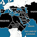 "In 2014 ISIS released this map of their ""Five years plan"""