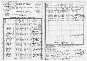 Le salaire des ouvriers en 1912 - Prologation de la digue (HD)
