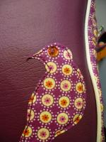Le oiseau et sa fleur zoom1