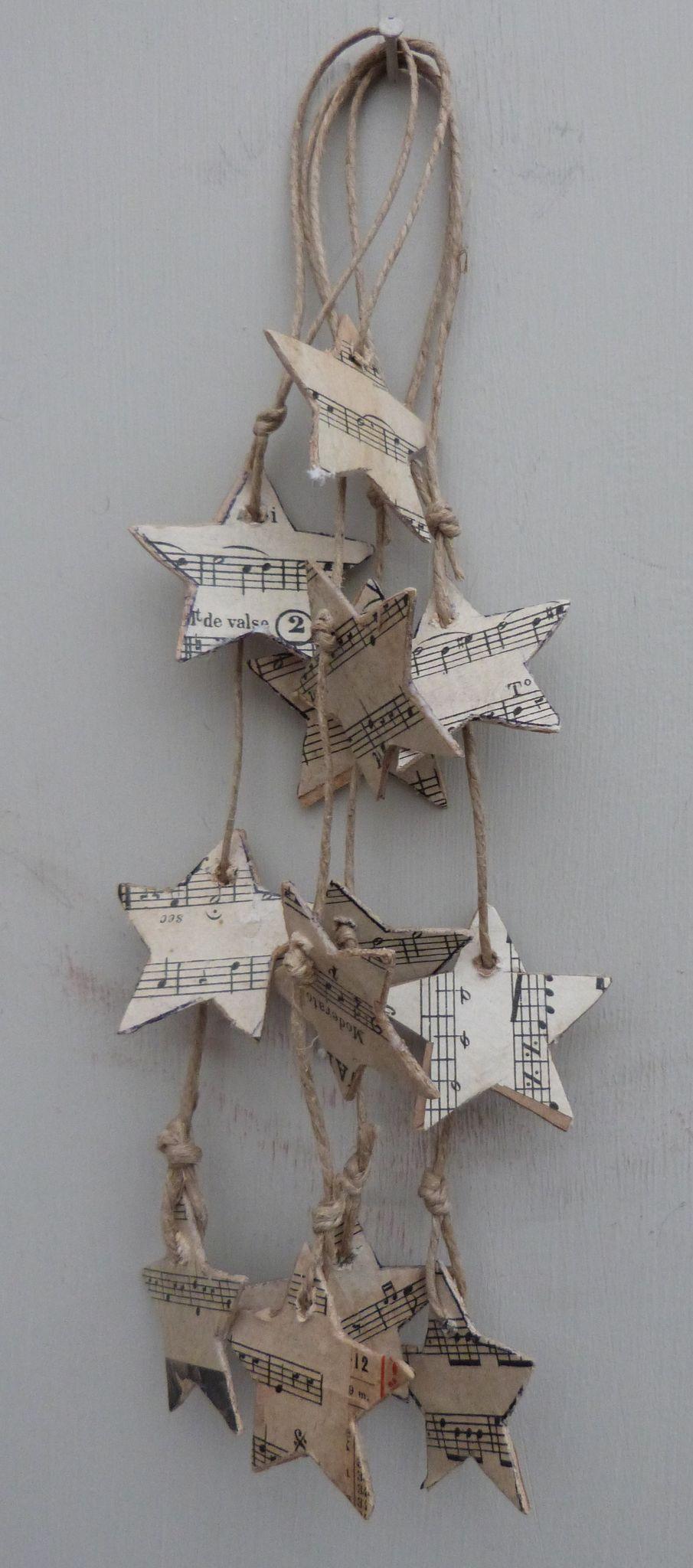 Guirlandes étoiles partitions