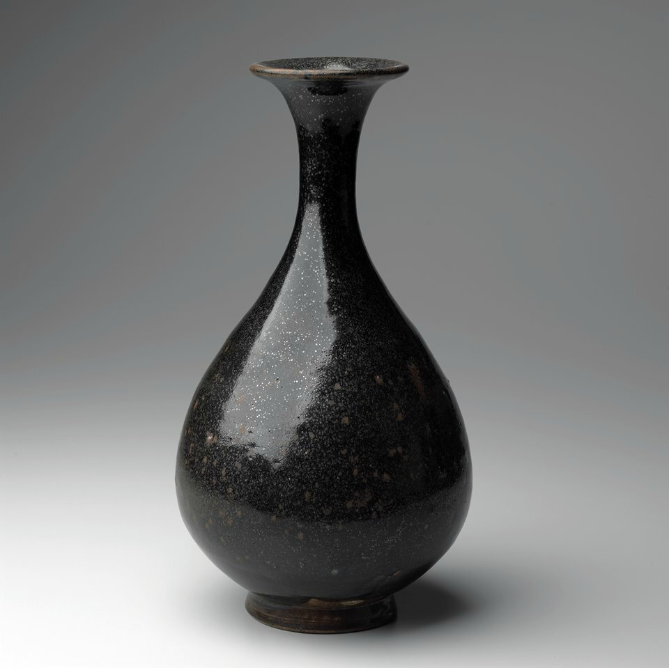 Pear-shaped Bottle, Cizhou ware, Song dynasty, 12th century