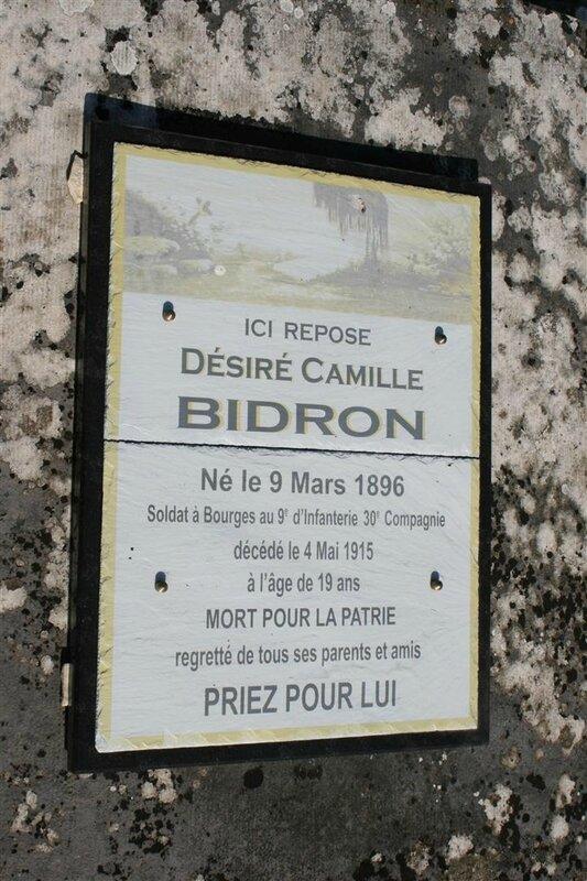 BIDRON Désiré Camille
