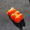 nounours orange