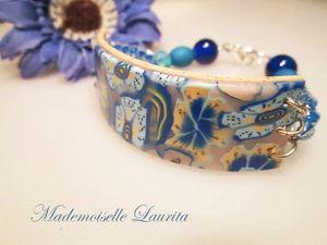 bracelet_fimo_perle_bleu