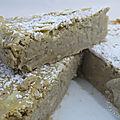 Gâteau fondant aux haricots blancs