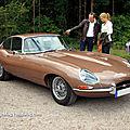 La jaguar type xk-e (version us) serie 1 coupé de 1962 (1961-1967)(9ème classic gala de schwetzingen 2011)