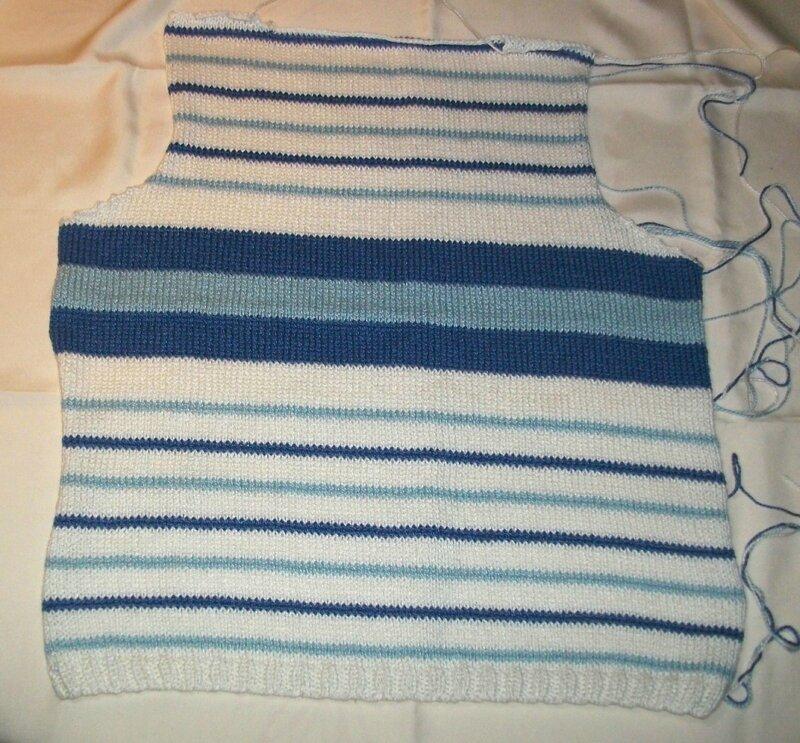 dos du tricot