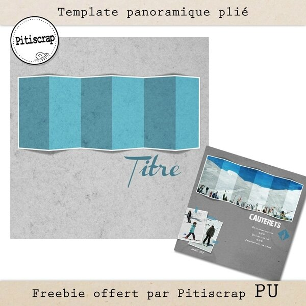 Pitiscrap-template panoramique plié-preview