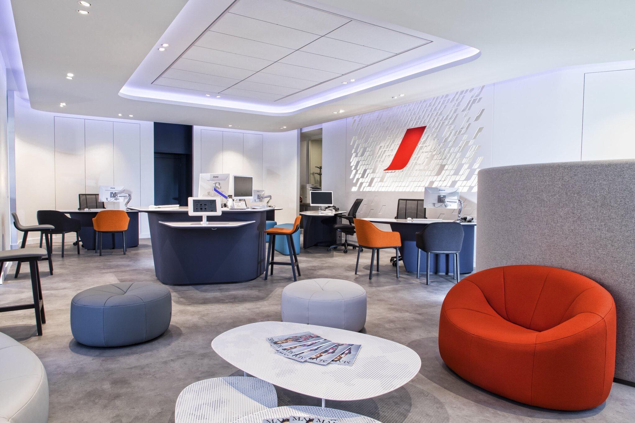 Air France Une Nouvelle Agence Ohlalair Le Design Dans Les Avions