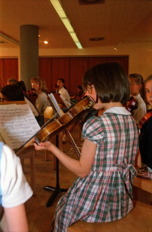 P 95 20 Stage de violon à Sablé - La Cantonade - Fête de l'école St-Exupéry 12