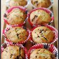 Mini cakes sans oeufs ni produits laitiers aux éclats de chocolat inspirés par makanaï