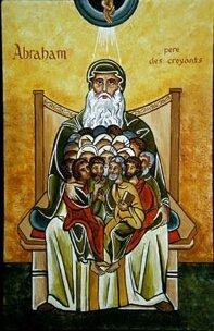 Abraham a dans son sein les fils de la promesse