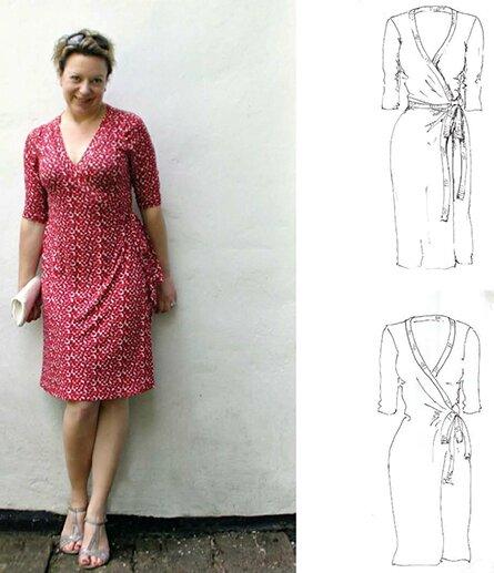 Maria Denmark - Rachel Wrap Dress j