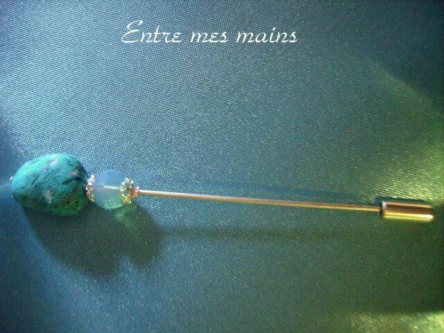 Fibule turquoise
