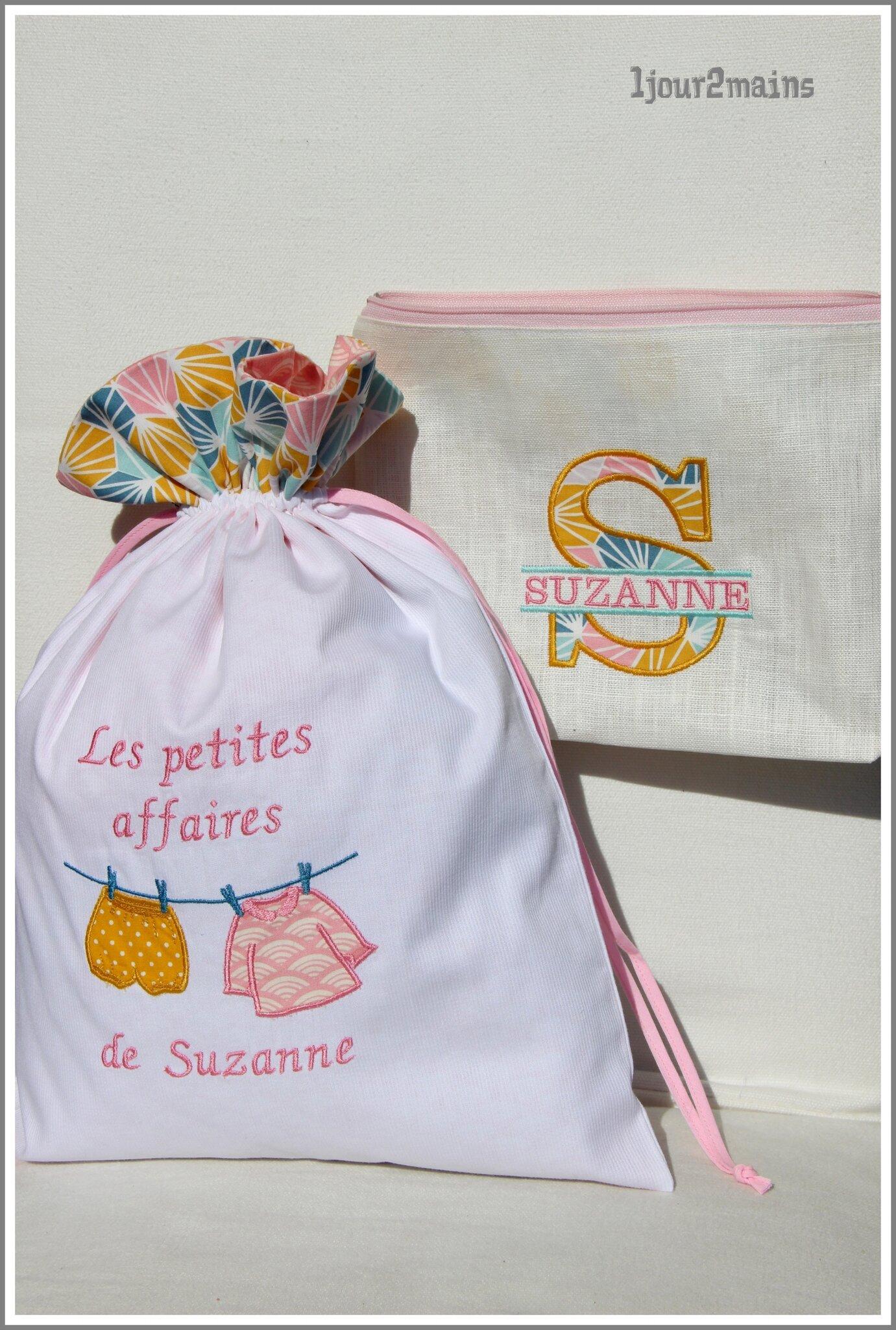 trousse + sac suzanne
