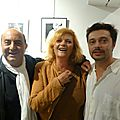 Photos vernissage anna ribeire & radios