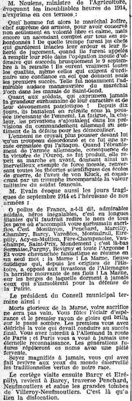 le petit journal Marne 1919 5