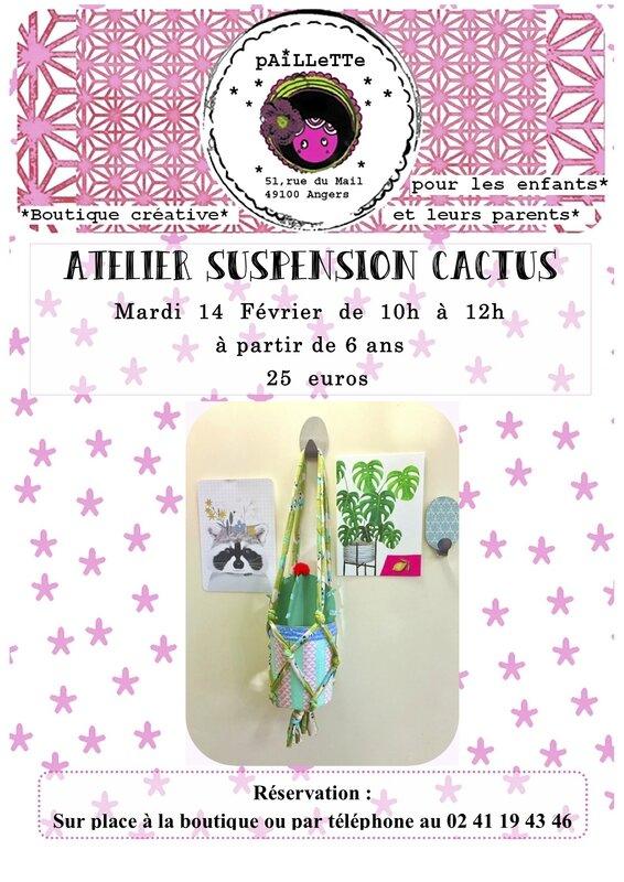 ATELIER 1 suspension cactus
