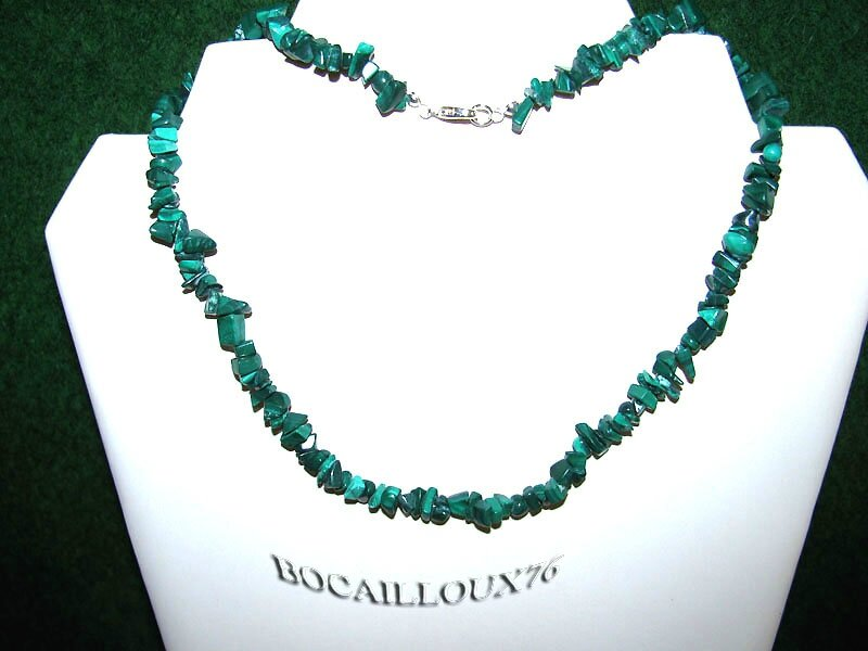 COLLIER MALACHITE 6