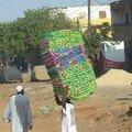 Transport du tissu