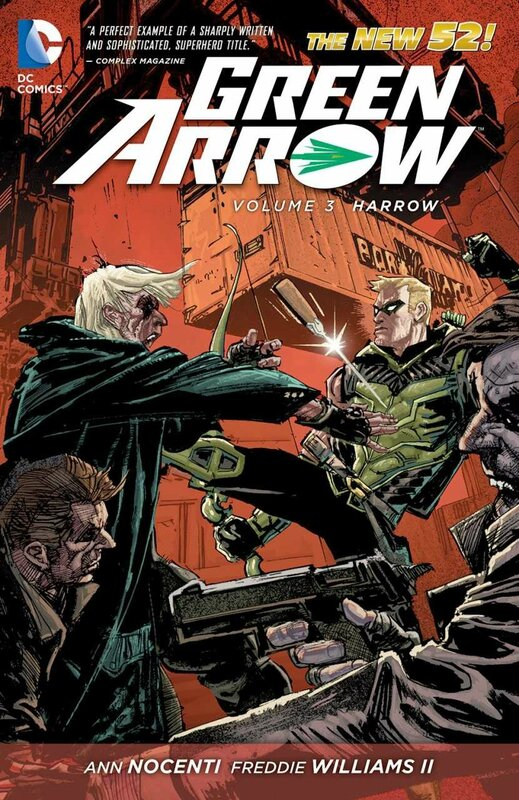 green arrow vol 3 harrow TP