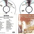 queen on fire cd promo france