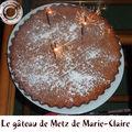 Le gâteau de metz de marie-claire