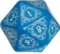 Boutique jeux de société - Pontivy - morbihan - ludis factory - d20 counter bleu