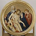 Large round pietà by johan maelwael leaving paris for the first time in 55 years