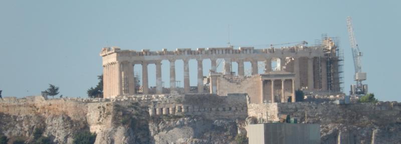 Acropole d'Athènes, 28 juin 2014